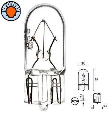 T10 12V//5W Glassockellampe