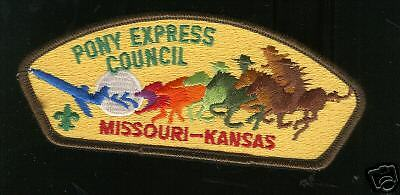 MINT CSP Pony Express Council S-1