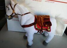 "Disney Rapunzel White Horse Plush Toy 14"""