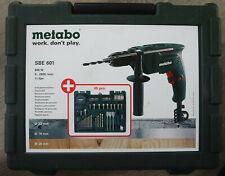 Metabo Schlagbohrmaschine SBE 650 Mobile Werkstatt mit 55-teiligem Zubeh/örset 600671870