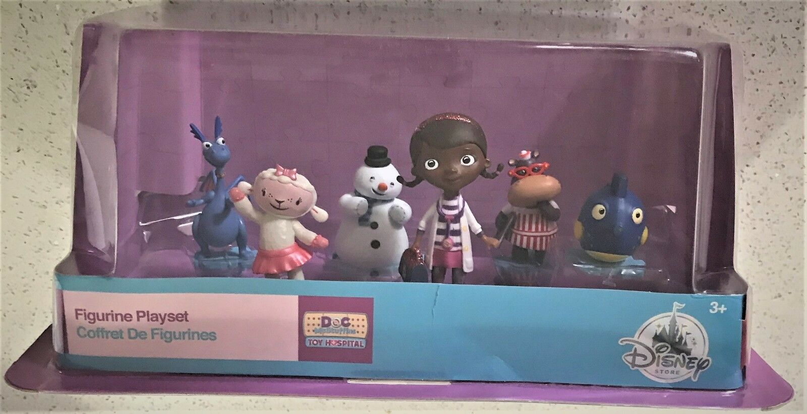 Doc McStuffins Figures Play Set Mobile Ages 3+ Toy Mobile Set Doll Girls Lambie Stuffy Play 0bc935