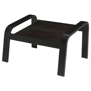 Miraculous Details About Ikea Poang Footstool Ottoman Only Cushion Not Included Black Brown New Ocoug Best Dining Table And Chair Ideas Images Ocougorg