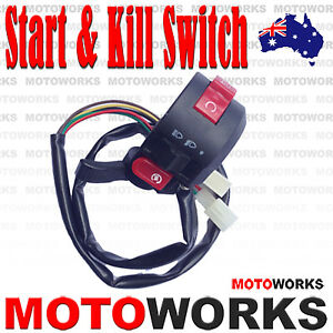 Kill Start Light Choke Switch Housing 110cc 125cc Pit Quad Dirt Bike ATV Buggy