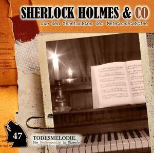 TODESMELODIE-FOLGE-47-SHERLOCK-HOLMES-amp-CO-AUS-DEN-GEHEIMAKTEN-DER-MEISTE-CD-NEW