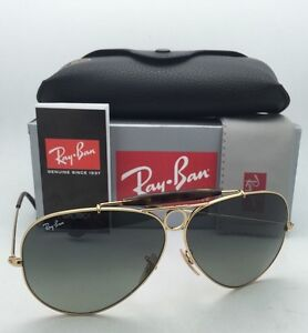 174e13ba9b945 RAY-BAN Sunglasses RB 3138 SHOOTER 181 71 62-09 Gold   Havana Frames ...