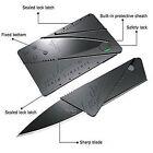 1pcs Pocket Safety Folding Survival Credit Card Utility Wallet Knife Knives top