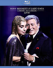 TONY BENNETT & LADY GAGA: CHEEK TO CHEEK LIVE! NEW BLU-RAY