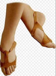 NEW-Men-039-s-Quick-Step-Lyrical-Bear-Claws-Dance-Black-Tan-Shoes