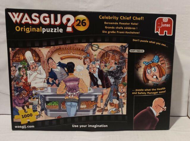 Wasjig-ORIGINAL Nº 26-Celebrity chef chef! - 1000 Pièces Jigsaw