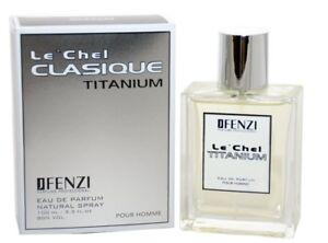 JFenzi Le'Chel Clasique Titanium Pour Homme 100 Eau de Parfüm für Herren for men