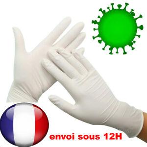 Gant-Latex-Jetable-Hygiene-Sanitaire-Gants-Protection-Bacterien-Virus
