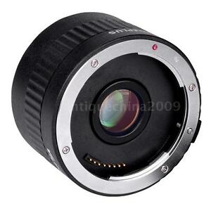 Viltrox Auto Focus Lens Adapter Ring Extender Tube Mount for Canon DSLR Cameras