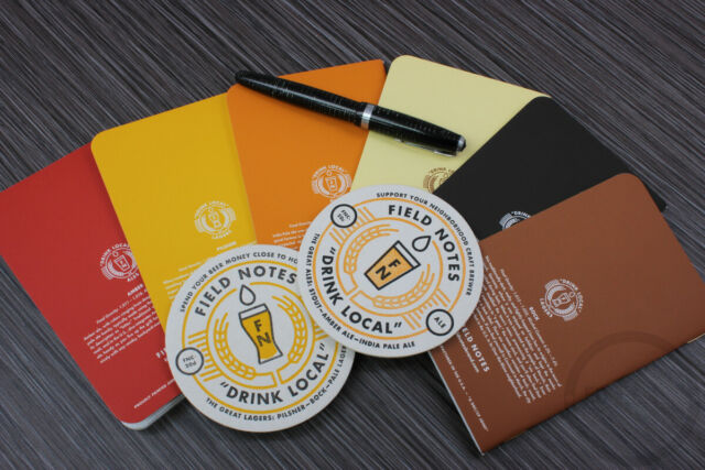 FIELD NOTES FNC-20 Drink Local LAGERS + ALES BUNDLE Two 3-Packs SEALED!