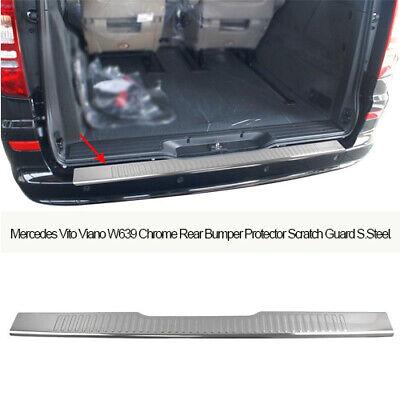 Viano 2003-2014 CARBON Optik Qualitäts Ladekantenschutz für Mercedes W639 Vito