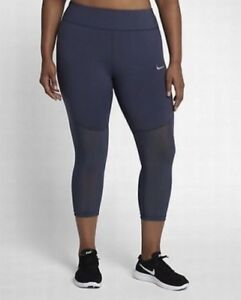 9ab8f90b1b2 Women s Plus Size Nike Epic Lux Running Tights Crops 883742 471 ...