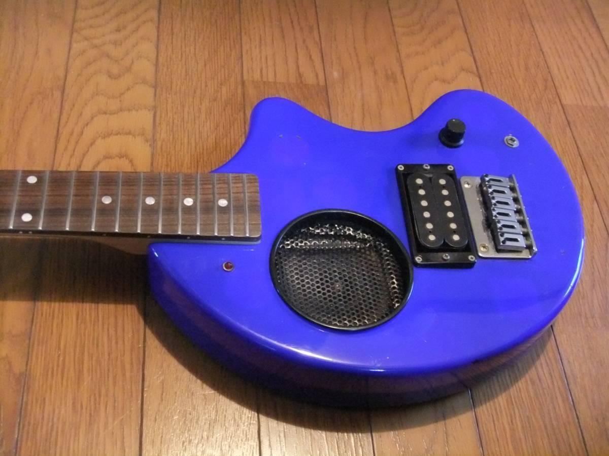 FERNANDES ZO-3 Deep Blau Blau exquisite  Travel guitar Easy to play F S