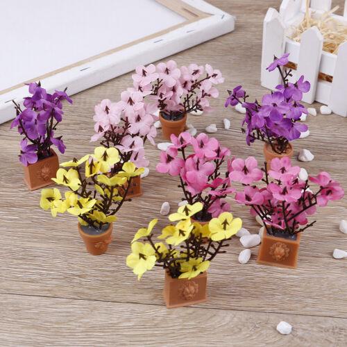 1:12 Dollhouse miniature flower plants decoration for dollhouse decorationRSFD