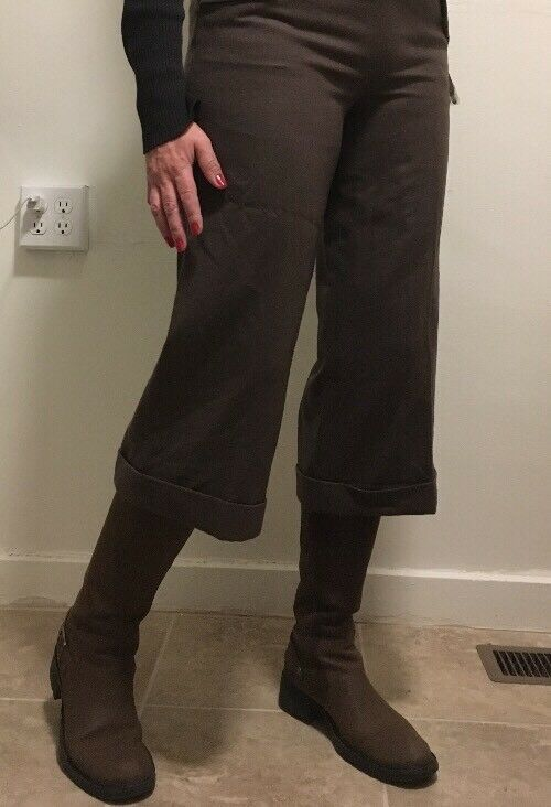 LAUREN Ralph Estate Fashion Women's Olive Green Wool Pants Sz 6 New  159