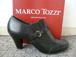 Marco Tozzi Court Shoes Casual Shoes Loafers Leather Black