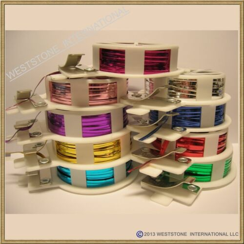 20m Metallic Twist Tie roll with cutter for Candy Cello Bag 65ft