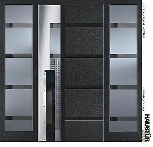 aluminium haust r alu haust r haust ren fl gel berdeckend 5380 1 glas seitenfeld ebay. Black Bedroom Furniture Sets. Home Design Ideas