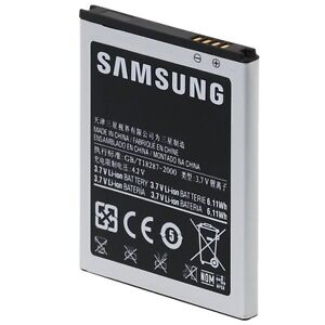 New Samsung Galaxy S II S2 S 2 gt-i9100 GB/T18287-200 Cell Phone Battery 1650 mA
