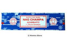 Nag Champa 100 Grams Box Original Satya Sai Baba Incense Sticks - FREE SHIPPING