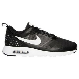 Nike Air Max Tavas Men's Running Shoe Black & White Mult Sizes 705149-009