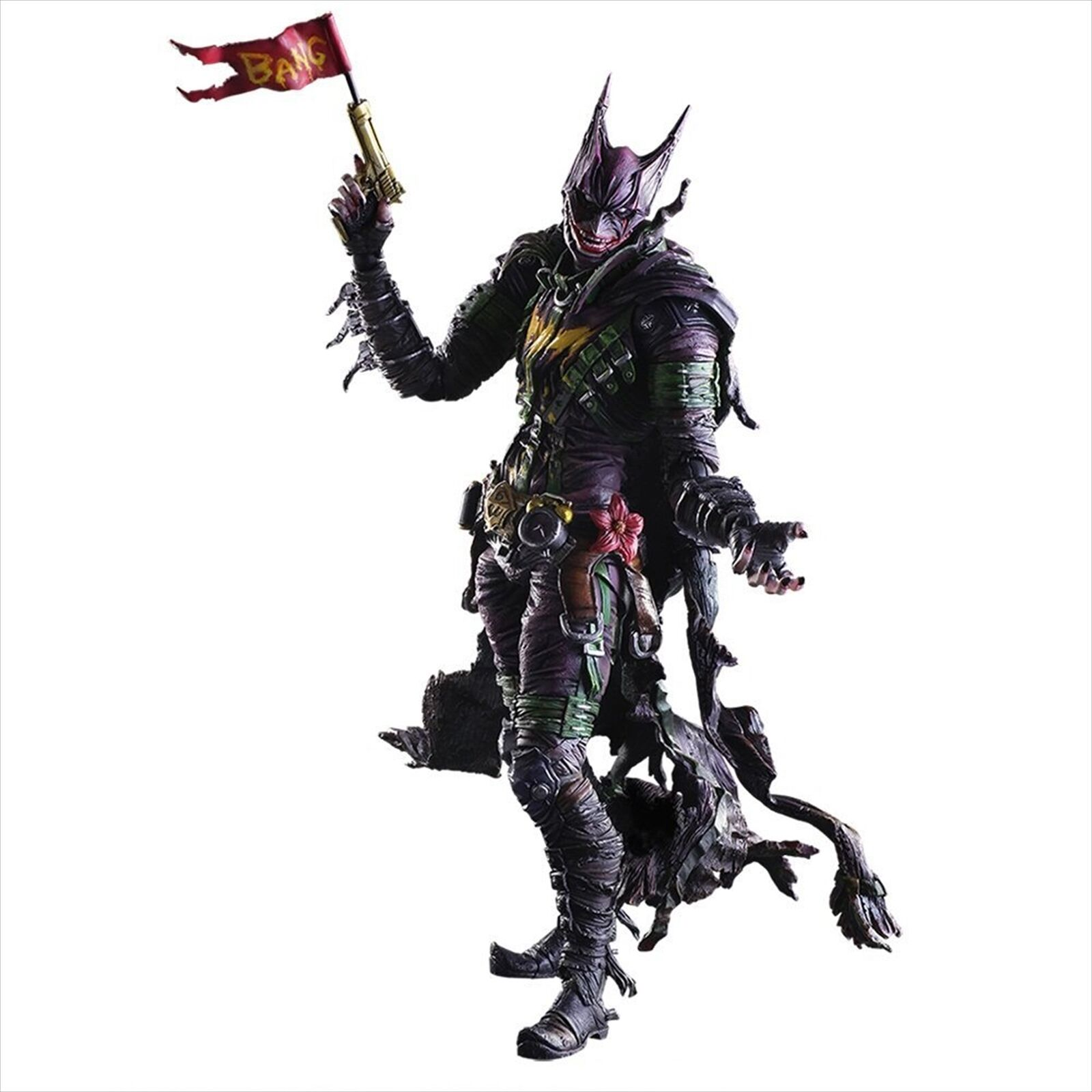 Square Enix DC Comics variante Play Arts Kai Batman Figura Rogues Gallery Joker