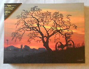"""WAITING FOR DAYBREAK Lighted Canvas, LED Light, 12"""" x 16"""" by Ohio Wholesale"""