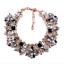 Women-Fashion-Bib-Choker-Chunk-Crystal-Statement-Necklace-Wedding-Jewelry-Set thumbnail 86