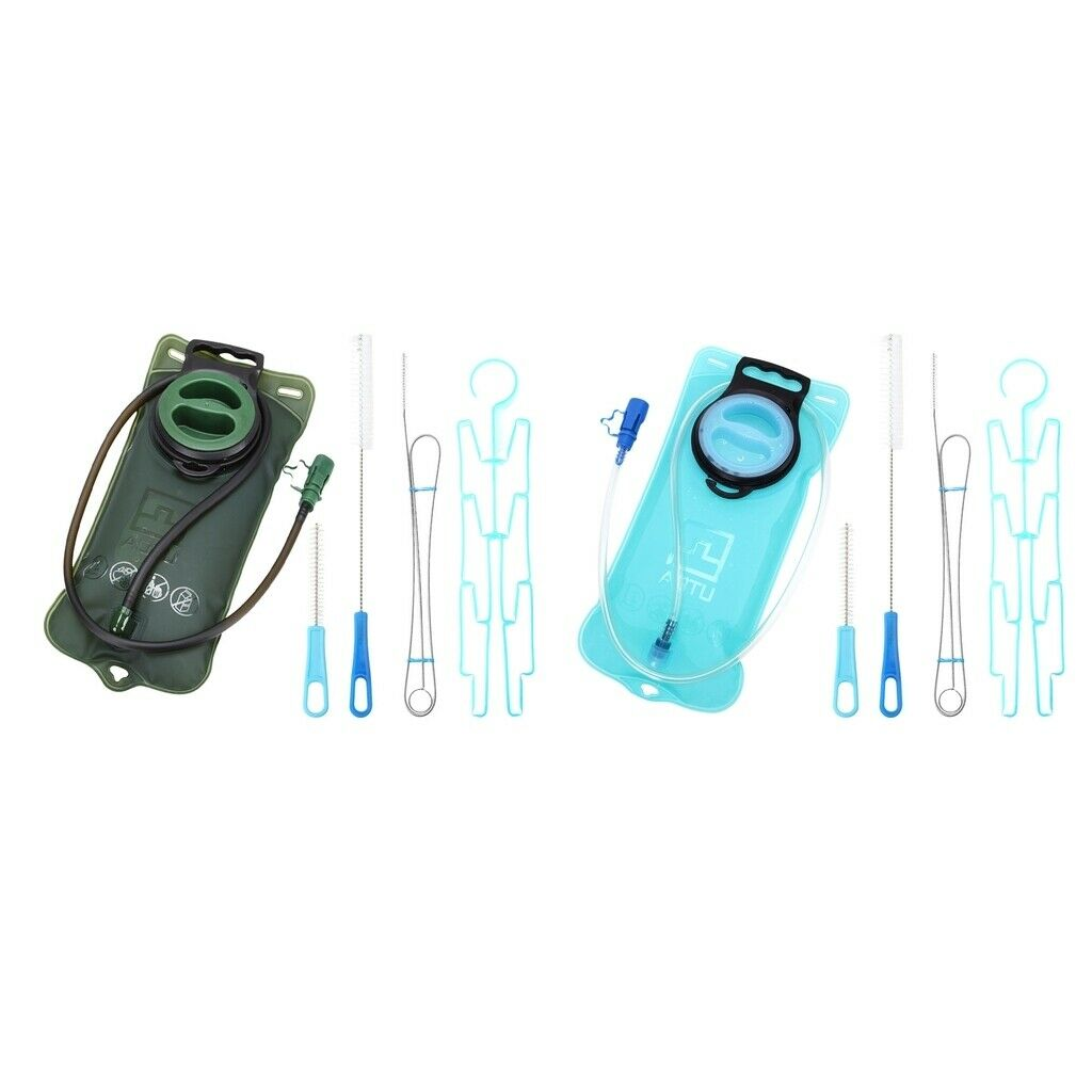 Outdoor Sport Water Bladder Hydration 2L Water Bag Camping Hiking Cycling