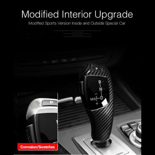 For BMW E60 08-10 E71 E70 08-13 Car Decoration Moulding Shift Gear Knob Cover