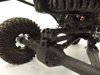 Gcm Racing Vaterra Twin Hammers Rear Axle Truss Gr0099 - Black