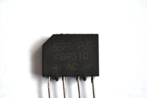 KBP310 Single Phase Bridge Rectifier 3Amp 1000Volts
