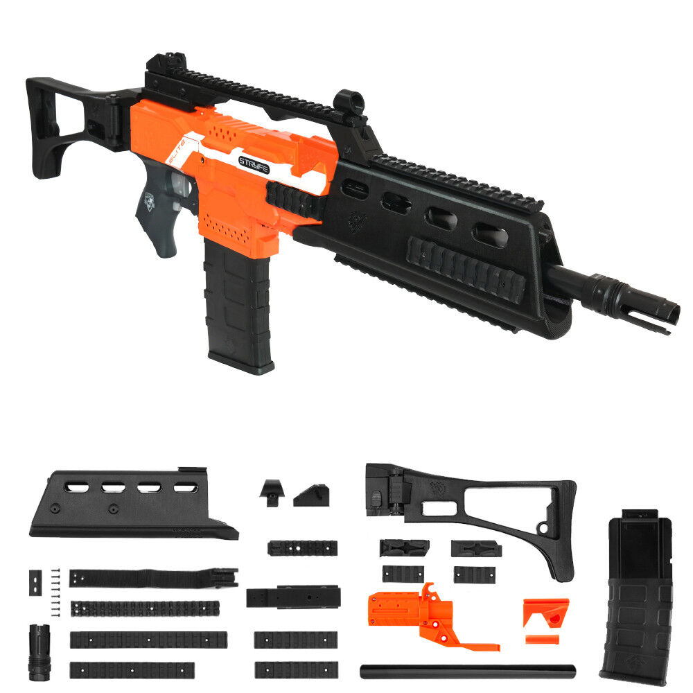 Trabajador Mod F10555 G36 rifle impresión 3D Kit De Imitación Nerf Stryfe modificar Juguete