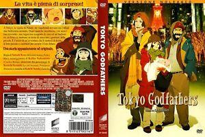 Tokyo-Godfathers-2003-DVD-RENT-NUOVO-Sigillato-in-Lingua-Italiana