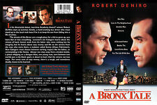 A BRONX TALE DVD, NEW, ships FREE and via FIRST CLASS, Same Day. Robert De Niro