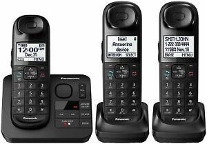 Panasonic-KX-TGL433B-Digital-Cordless-Phone-System-w-Answering-Machine-DECT-6-0