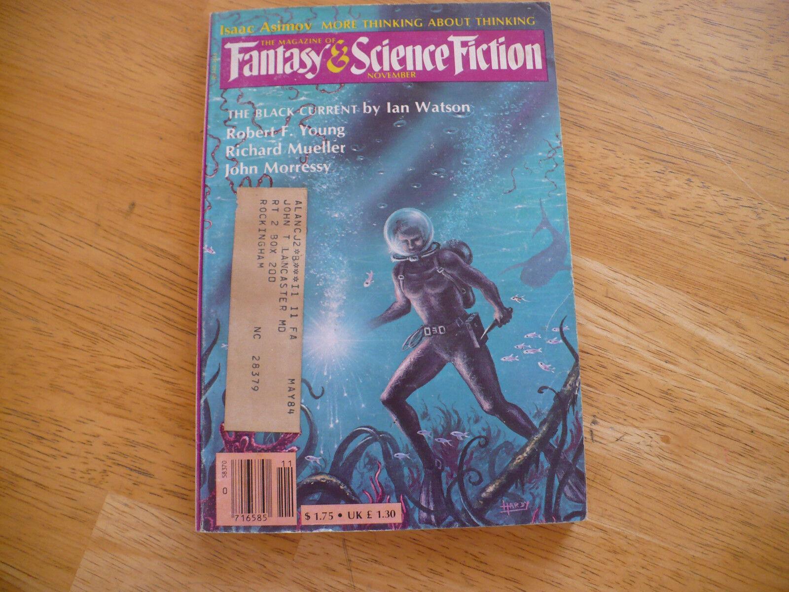 MAGAZINE OF FANTASY & SCIENCE FICTION - WHOLE # 390 - VOL 65