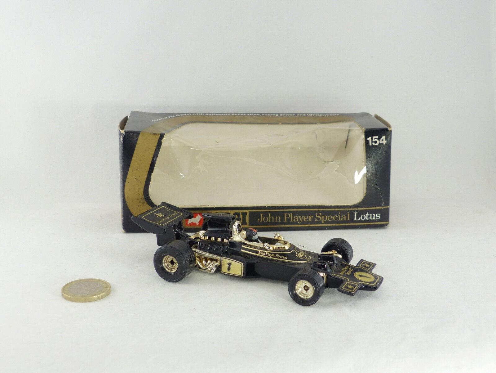 Corgi 154 Lotus John spelaer särskild de Fittipaldi F1 värld Champion 1972 (FRAM35;A6b)