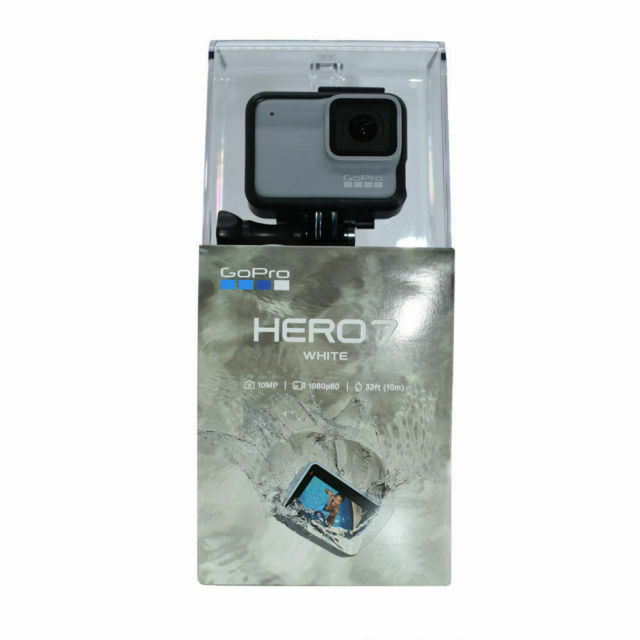 GoPro HERO7 Waterproof Digital Action Camera - White