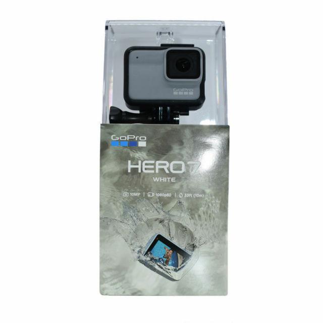 GoPro HERO7 Waterproof Digital Action Camera - White