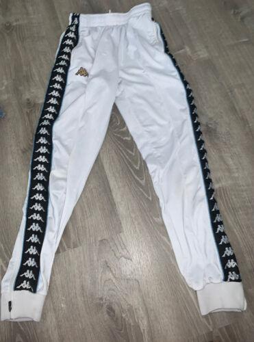 Kappa White Pants Trackpants Small