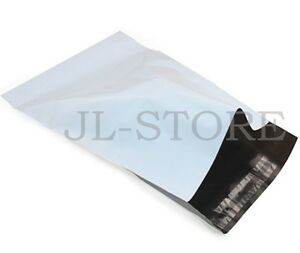 14.5 x 19 Self Seal White Poly Mailers Envelope Shipping Bag 10 25 50 100