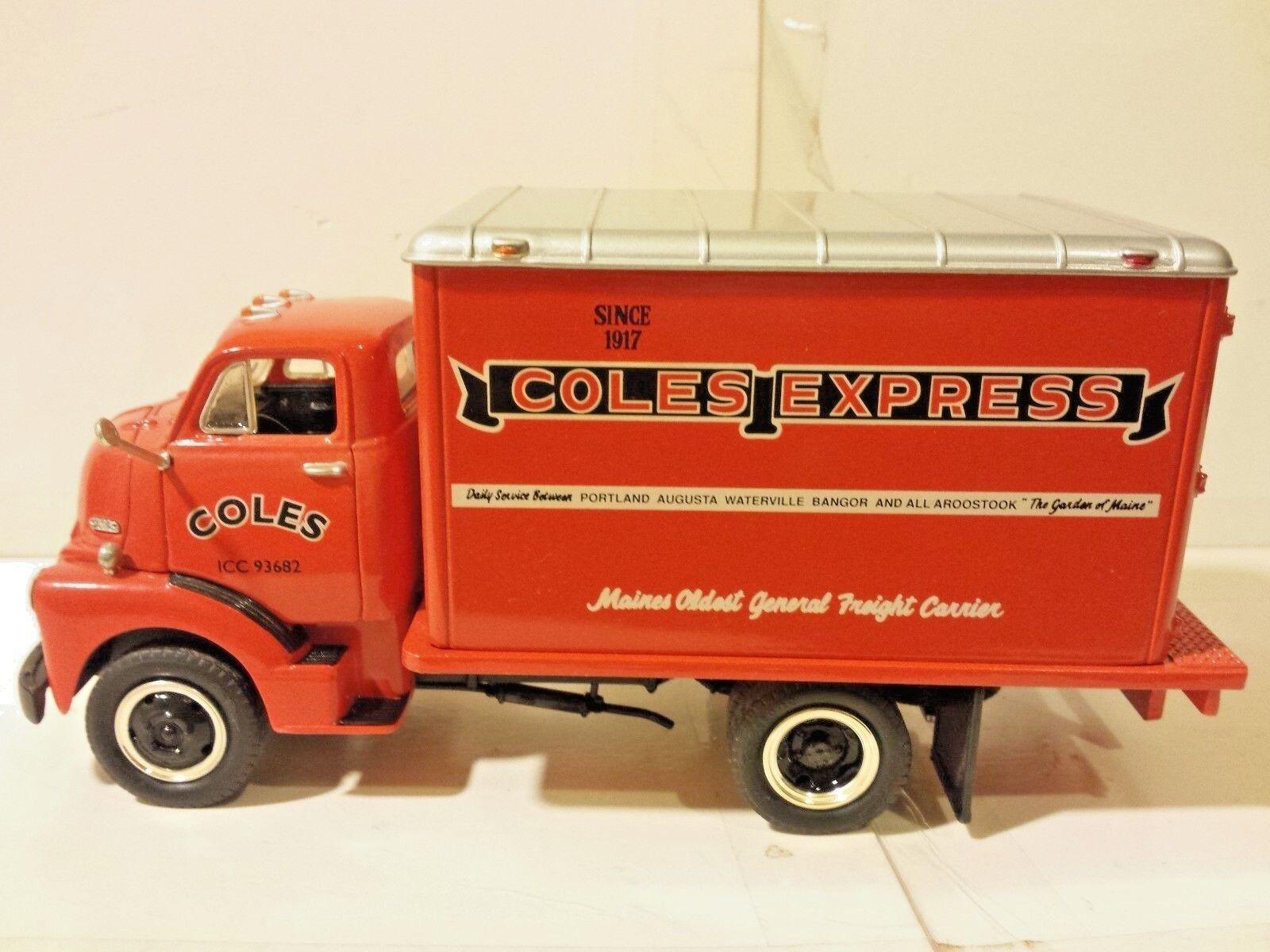 First First First Gear GMC 1952 Dry Goods Van 19-1031 Coles Express 1 34 Scale Die Cast ba4b6c