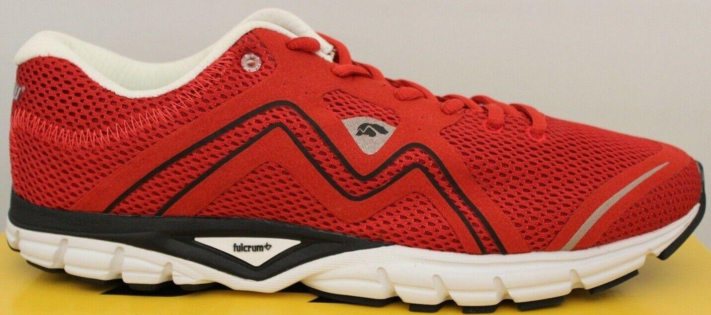 Hombre Karhu Fluid3 Zapatillas para Correr Rojo Negro F100141 Nuevo Zapatillas