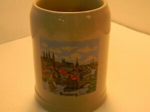Vintage-Manger-Bamberg-Stein-Mug-Germany-Grube-aus-Bamberg-5-1-2-034-Tall