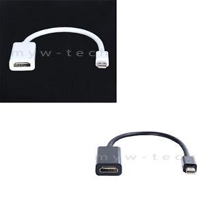 Details about Thunderbolt Mini Displayport DP to HDMI TV AV Adapter For  Lenovo ThinkPad T430 s