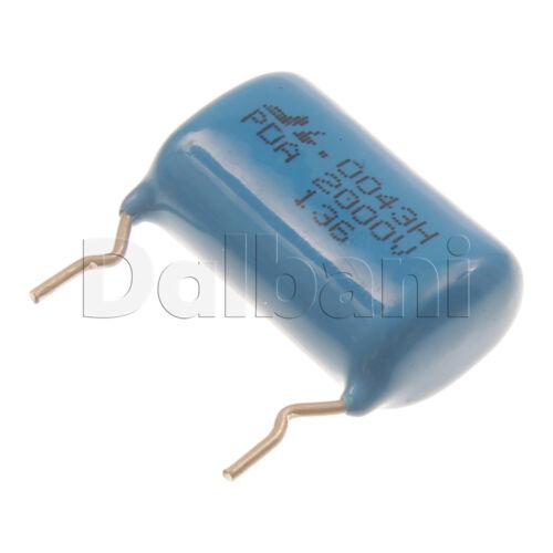 10pcs PDA-2000V0.0043UF3 Metallized Film Capacitor PDA200V 2000V .0043uF